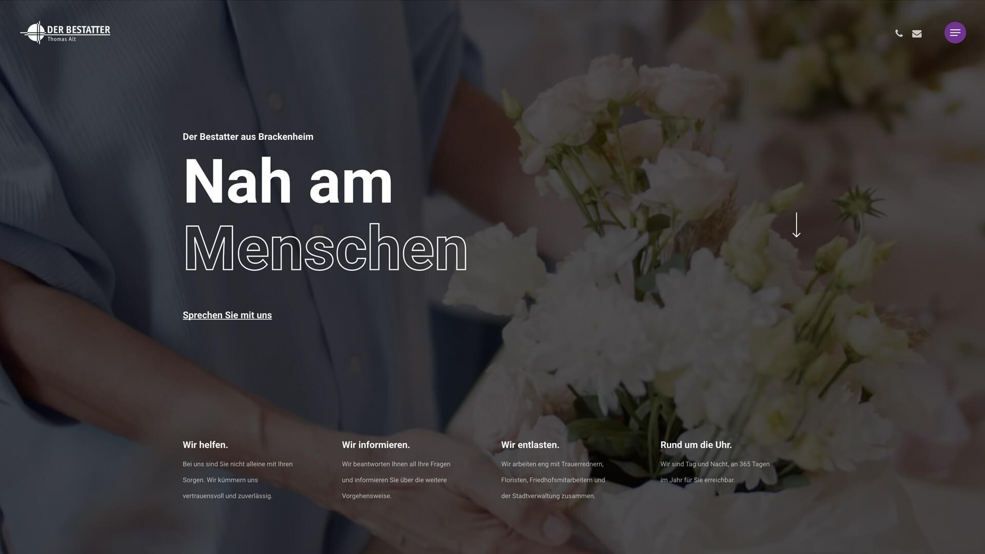 Startseite - Der Bestatter - Thomas Alt